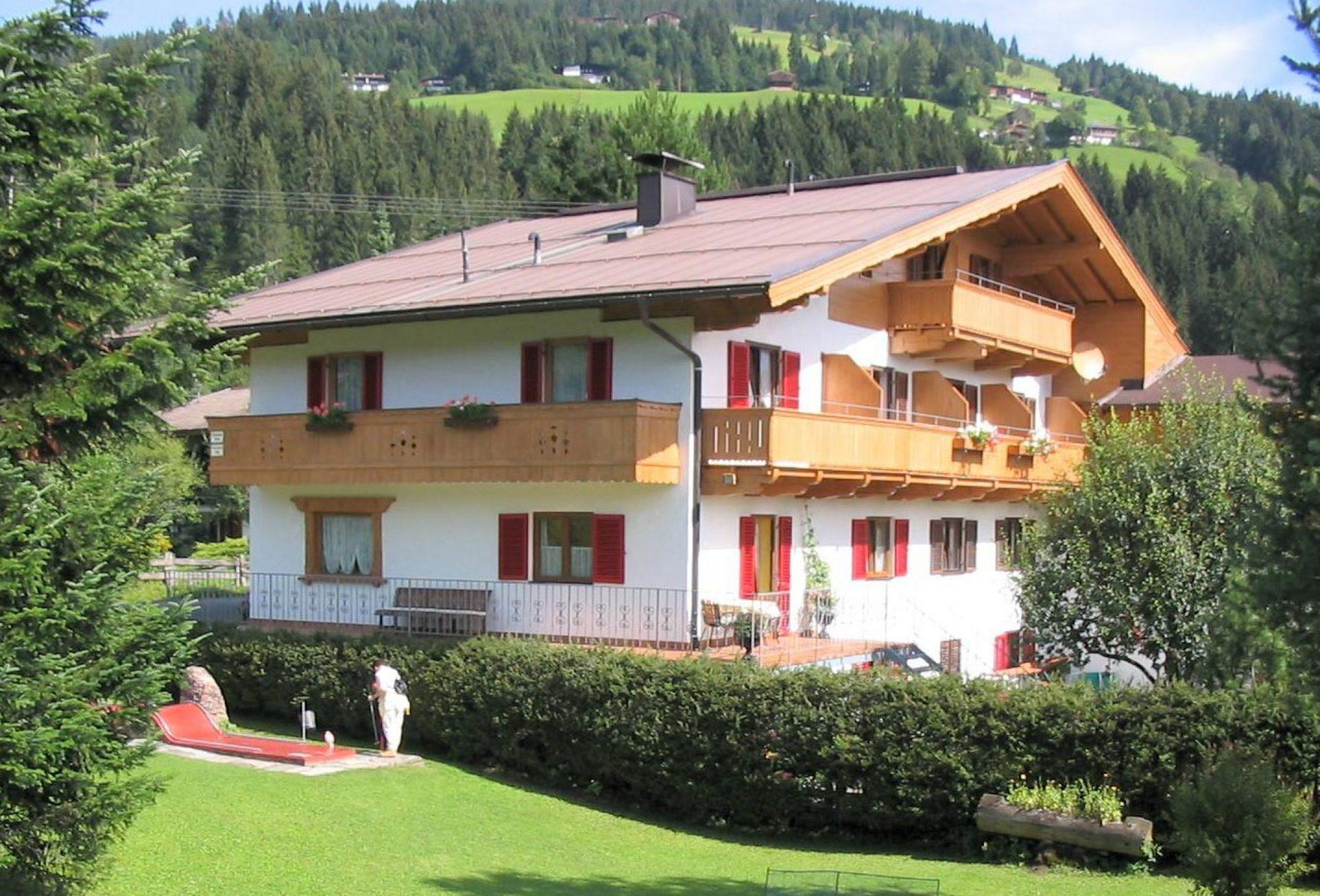 Gästehaus Chalet Appartement Staffner